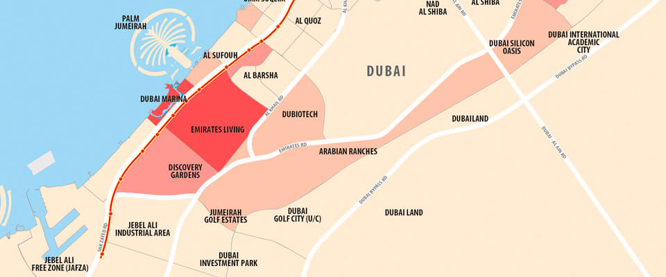 Statistical area map